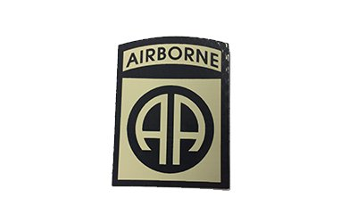 Cejay Engineering 82nd Airborne Division IR Patch, Tan