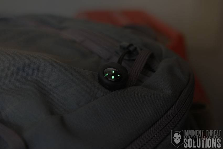 ITS Tactical ITS Tactical Compass with Zipper Pull, Black