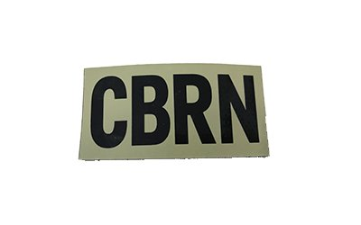 Cejay Engineering CBRN (Chemical/Biological/Radiological/Nuclear) IR Patch, Large, Tan