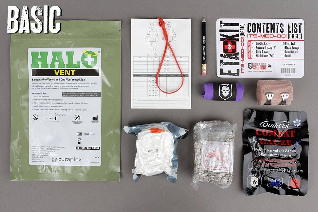 ITS Tactical ITS Tactical ETA Trauma Kit - Basic (Tallboy)