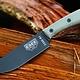 ESEE Knives ESEE Knives ESEE Knives ESEE-6, Plain Edge w/ Modified Handle, Leather Sheath