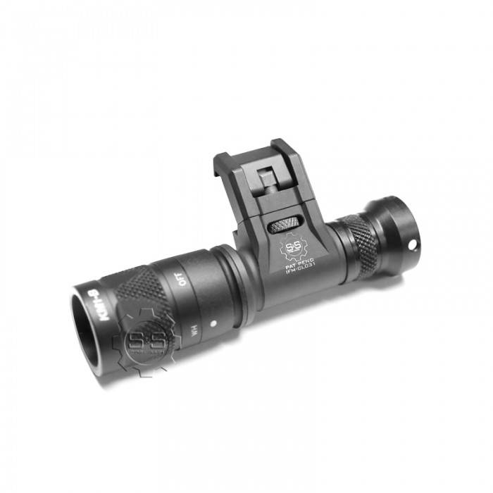 S&S Precision S&S Precision Integrated Flashlight Mount Cam, 3V, Right (compatible w/ Surefire Scout), Tan