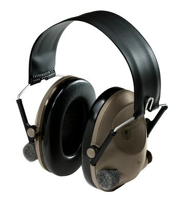 Peltor Peltor 3M Sound Trap Slimline Earmuff MT15H67FB, Tactical Electronic Headset Headband