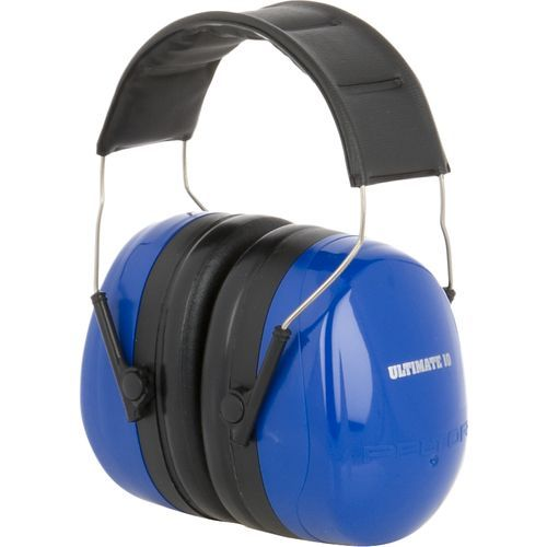 3M 3M Peltor Ultimate 10 Earmuff (NRR 30db) Blue