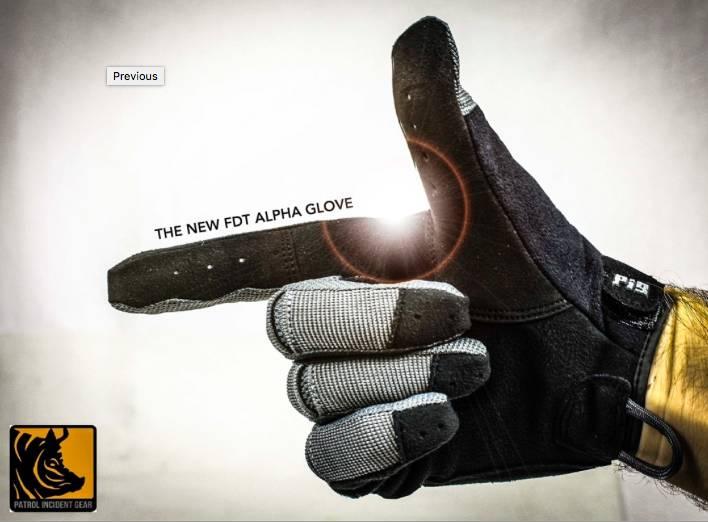 Patrol Incident Gear PIG Full Dexterity Tactical (FDT) Alpha Gloves