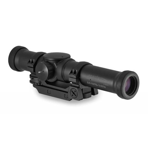 Elcan Elcan SpecterTR Tri FOV 1x/3x/9x Optical Sight 5.56 Ballistic Reticle w/ Mount, Black