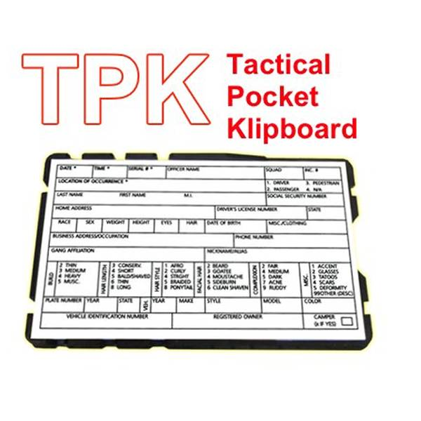 TMK TMK Tactical Pocket Klipboard (TPK)