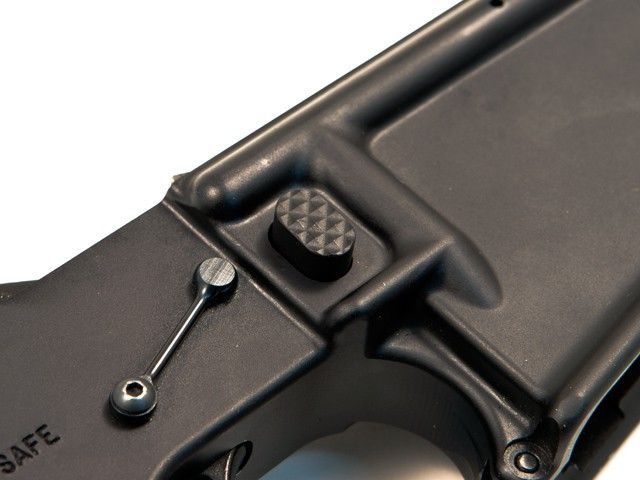 Seekins Precision Seekins Precision Billet Mag Release - Black