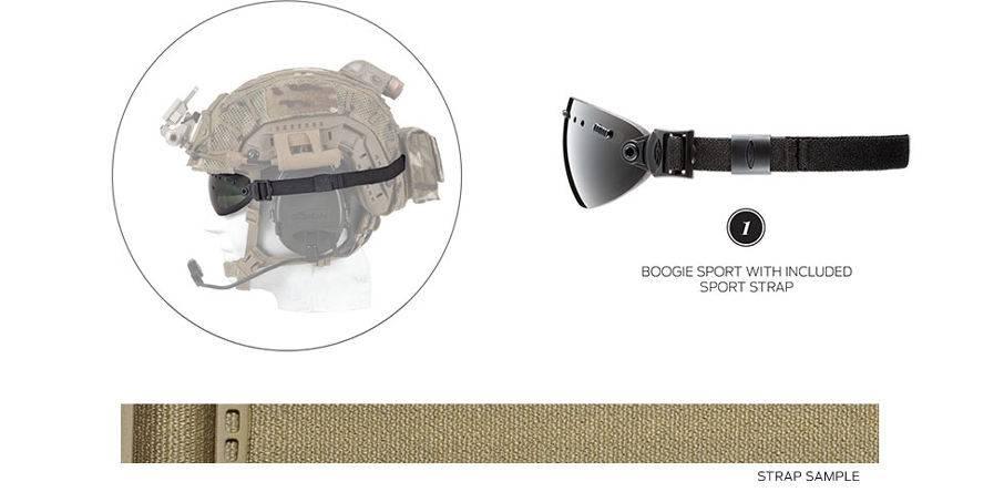 Smith Optics Smith 35mm Strap for Boogie Sport/SOEP