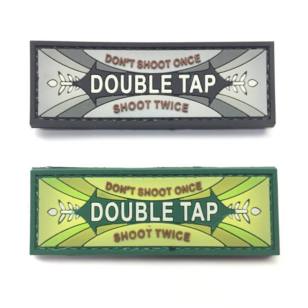 DS Tactical Double Tap PVC Patch