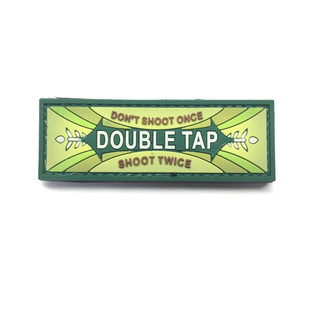 Custom Double Tap PVC Patch