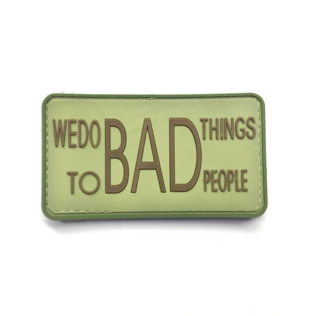 DS Tactical Bad Things PVC Patch