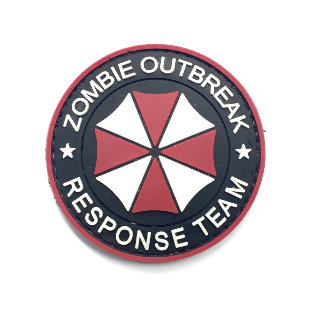 Custom Zombie Outbreak Response Team PVC Patch