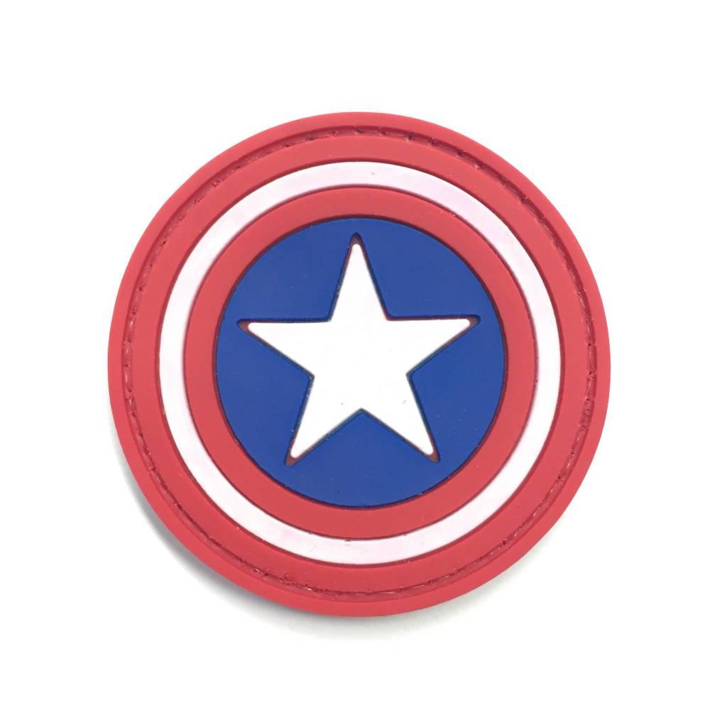 Custom Captain America Shield PVC Patch