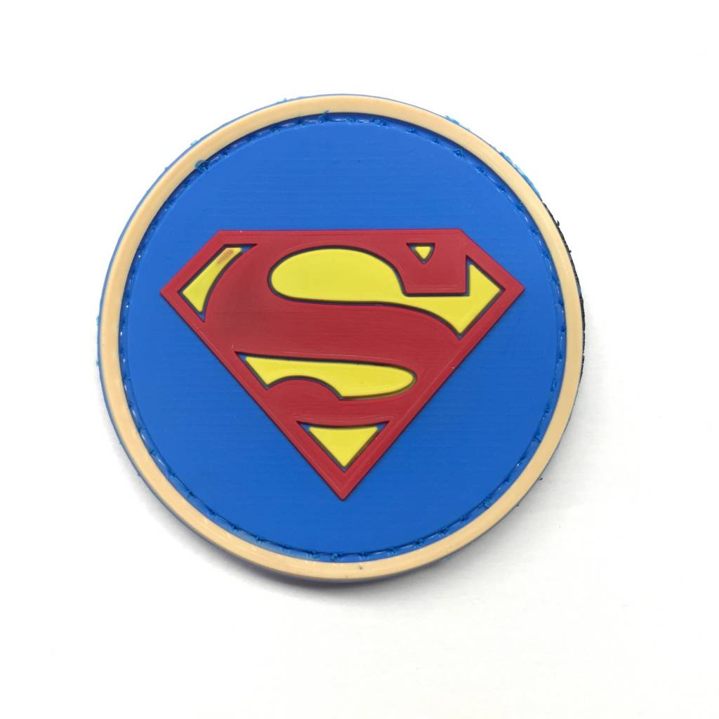 Custom Superman PVC Patch