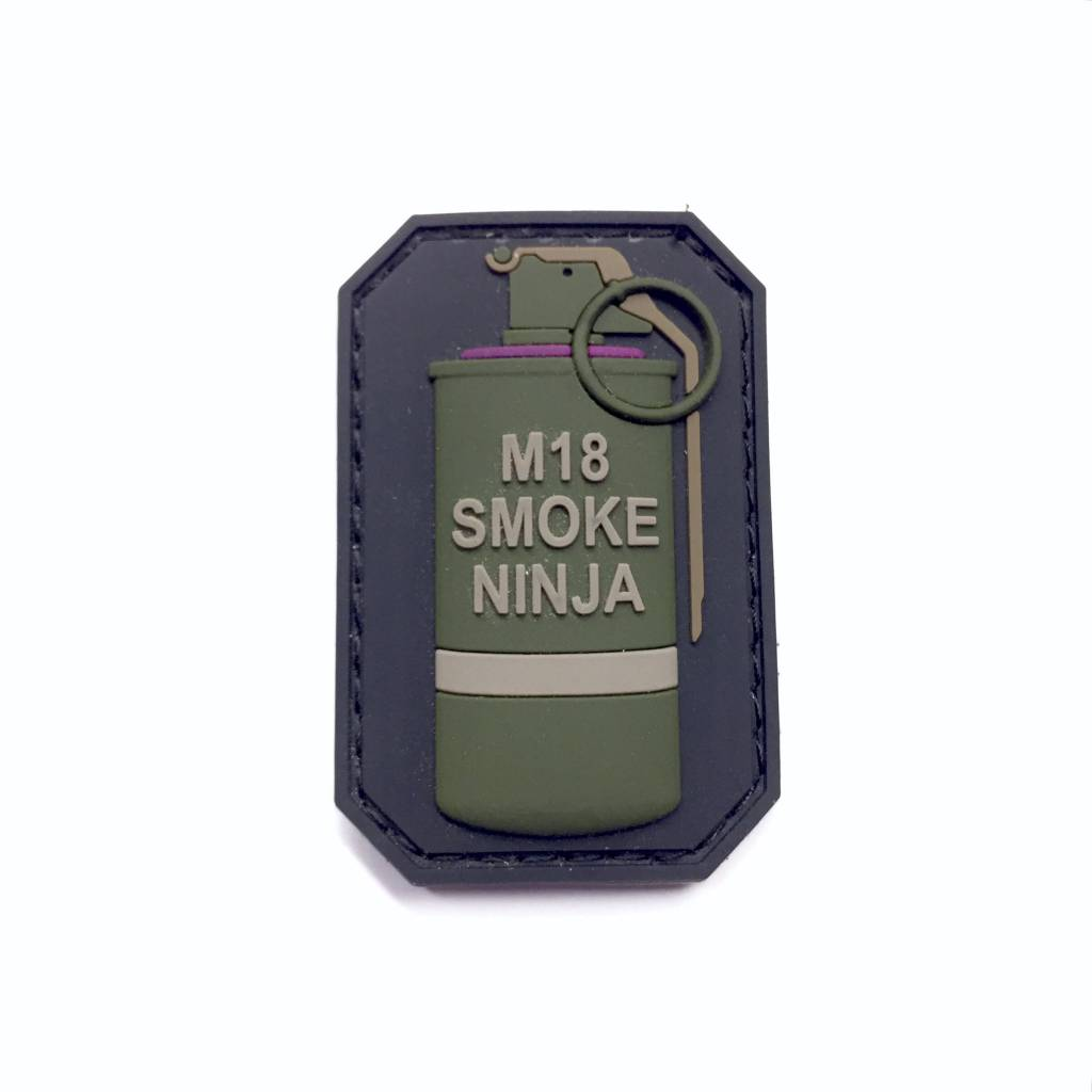 DS Tactical M18 Smoke Ninja PVC Patch