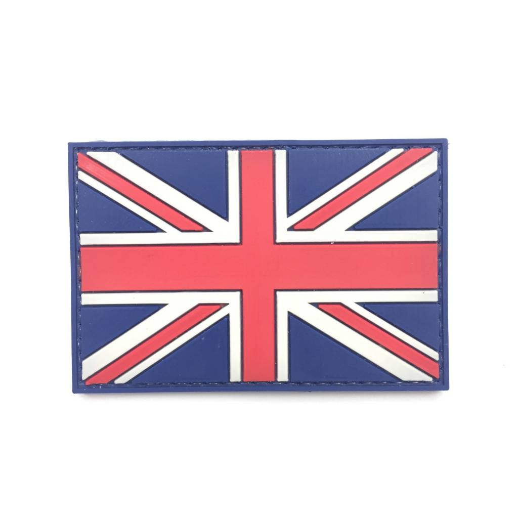Custom Union Jack PVC Patch