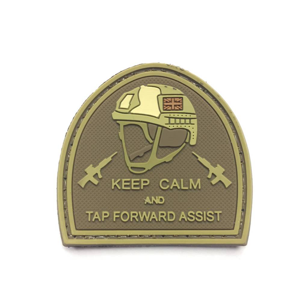 DS Tactical Keep Calm and Tap Forward Assist