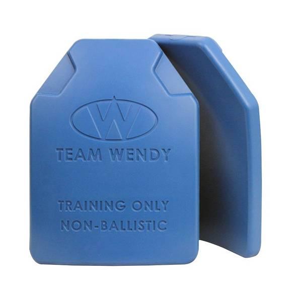 """Team Wendy Team Wendy ESAPI Non-Ballistic Training Plates - Pair (8.75"""" x 11.75"""", 5 lbs each)"""
