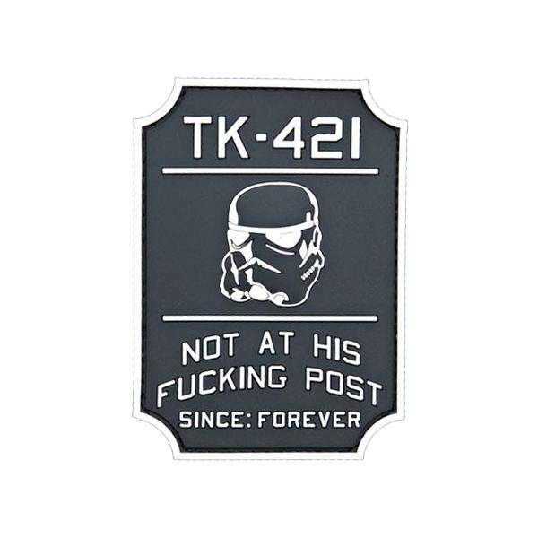 Violent Little Machine Shop Violent Little Machine Shop TK-421 Star Wars Morale Patch