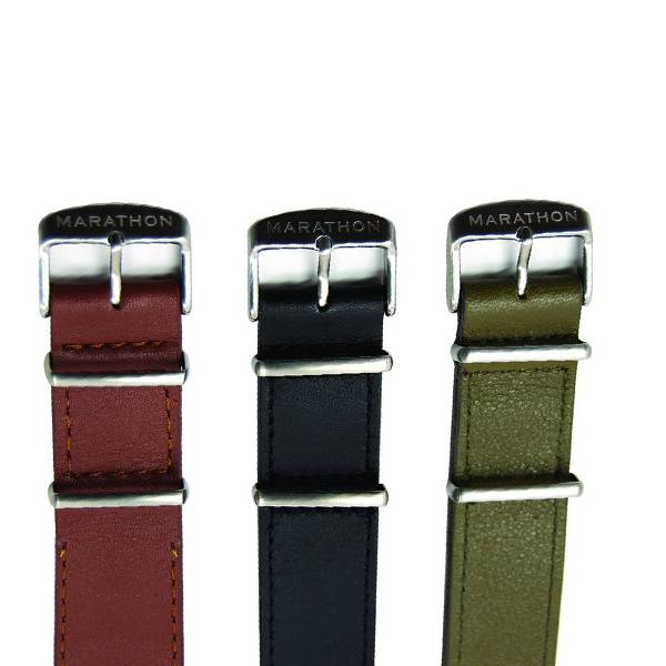Marathon Watches Marathon Watches Leather NATO Watch Band/Strap