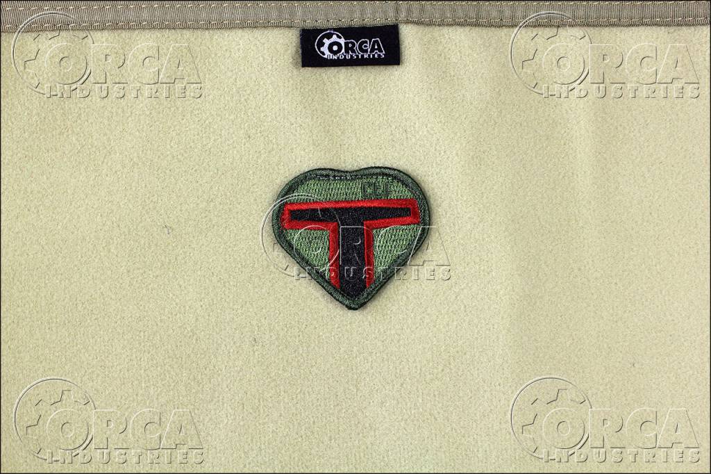 Orca Industries ORCA Boba Heart - Christine the Fett Patch - Color