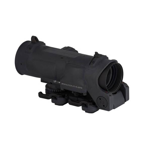 Elcan Elcan SpecterDR Dual Role 1x/4x Optical Sight 7.62 (CX5396 ballistic reticle) w/ Intergral A.R.M.S. Picatinny Mount, Black