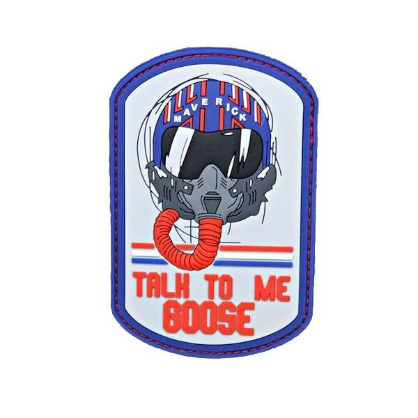"Violent Little Machine Shop Violent Little Machine Shop ""Talk To Me Goose"" Top Gun Morale Patch"