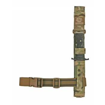 Tactical Tailor Tactical Tailor Universal Knife Sheath 6in Leg Rig W/Malice Clips