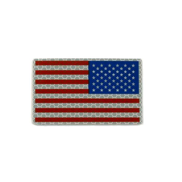 Cejay Engineering USA Reverse IR Flag, Large, RWB (Red/White/Blue)