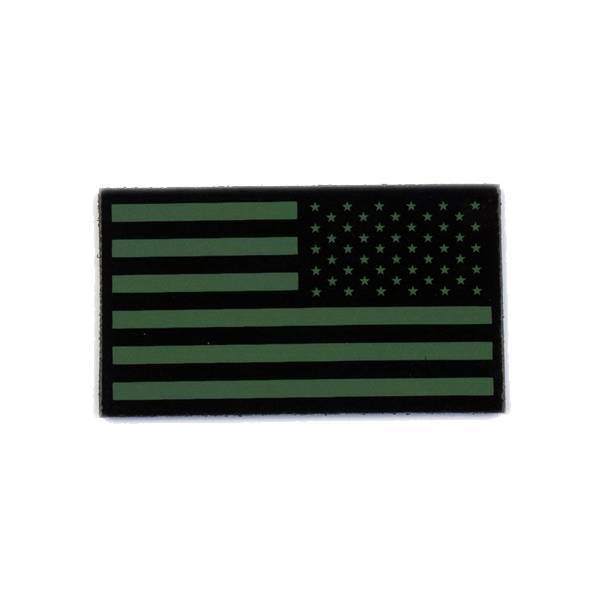 Cejay Engineering USA Reverse IR Flag, Large, OD Green