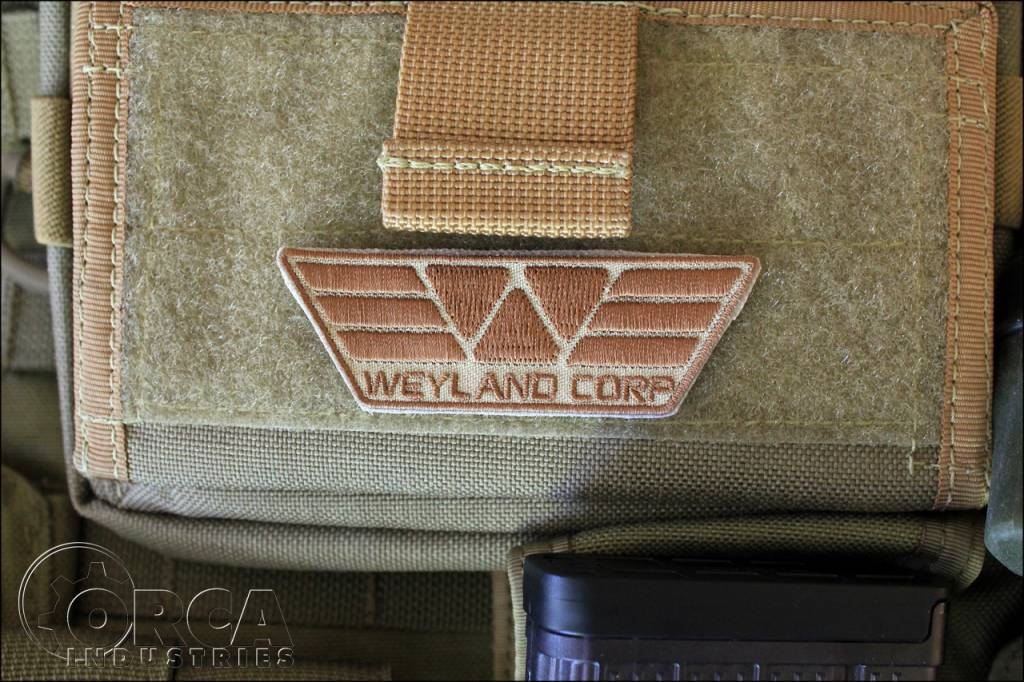 Orca Industries ORCA Weyland Corp Patch - Desert
