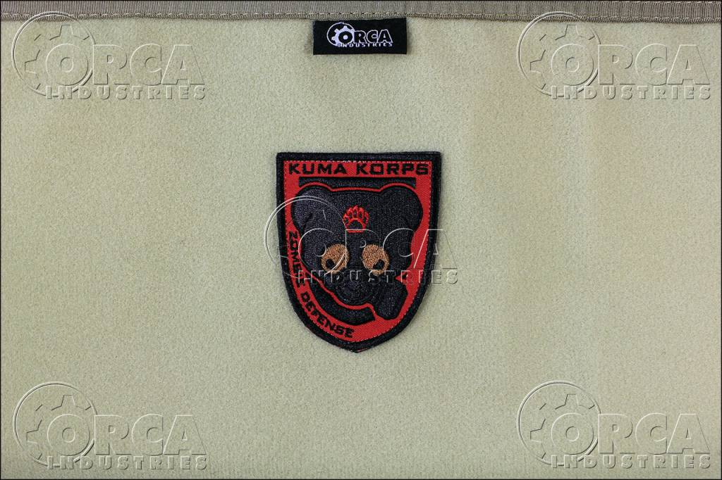 Orca Industries ORCA Kuma Korps - Zombie Defense Patch - Full Color