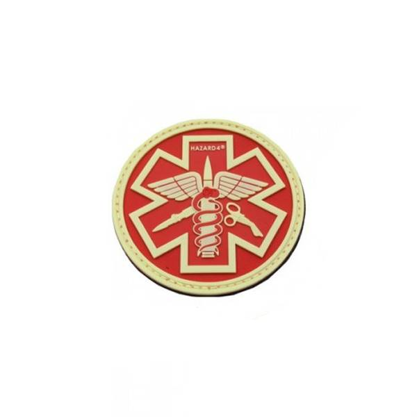 Hazard 4 Hazard 4 Battle(TM) Paramedic Rubber Velcro Patch