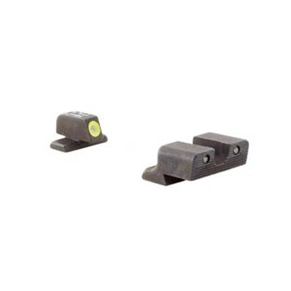 Trijicon HD Night Sight Springfield XD Set - Yellow Front Outline