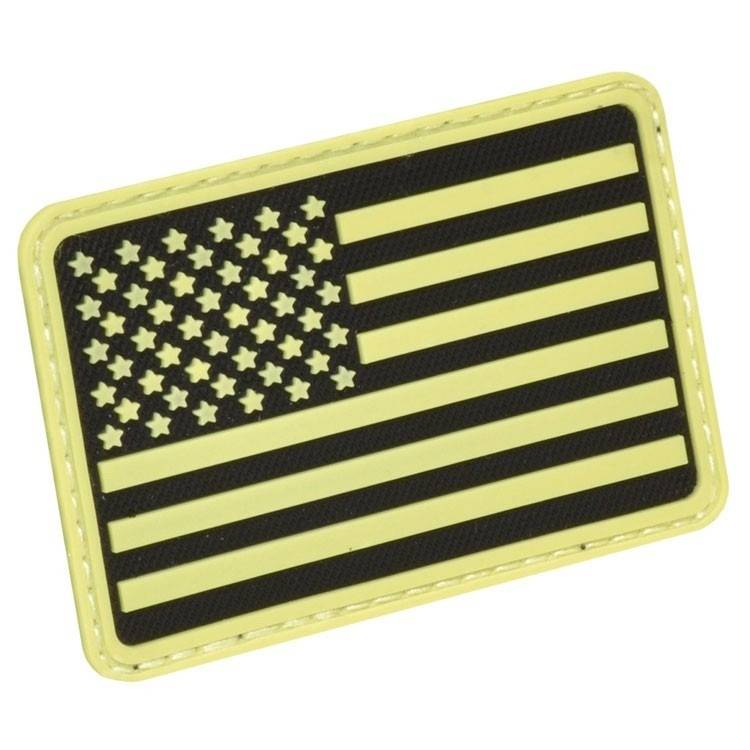 Hazard 4 Hazard 4 USA Flag (Left Arm) Rubber 3D Velcro Morale Patch