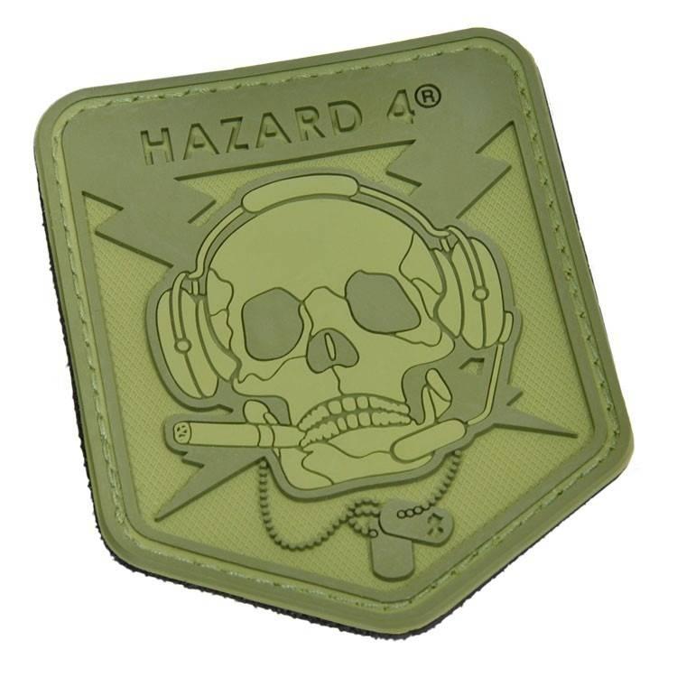 Hazard 4 Hazard 4 Operator Skull™ rubber velcro patch