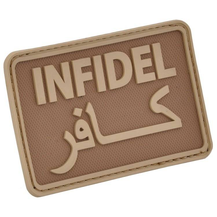 Hazard 4 Hazard 4 Infidel™ rubber velcro patch