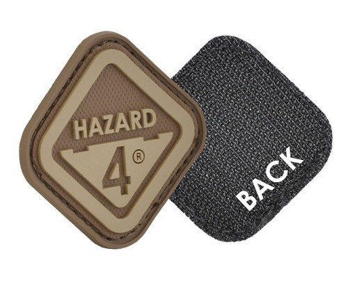 Hazard 4 Diamond-Shaped Hazard 4® Logo Velcro Patch