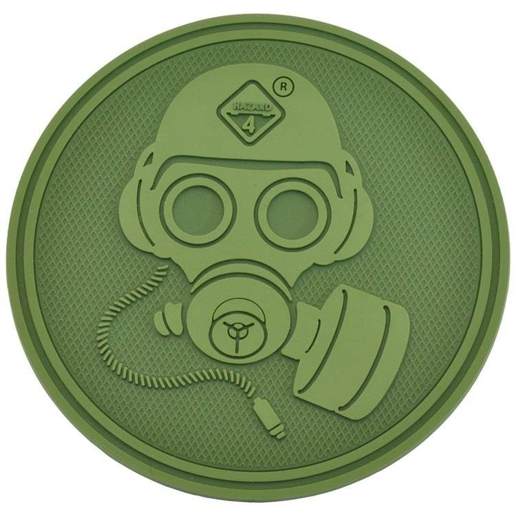 Hazard 4 Hazard 4 Special Forces Gas Mask™ rubber velcro patch