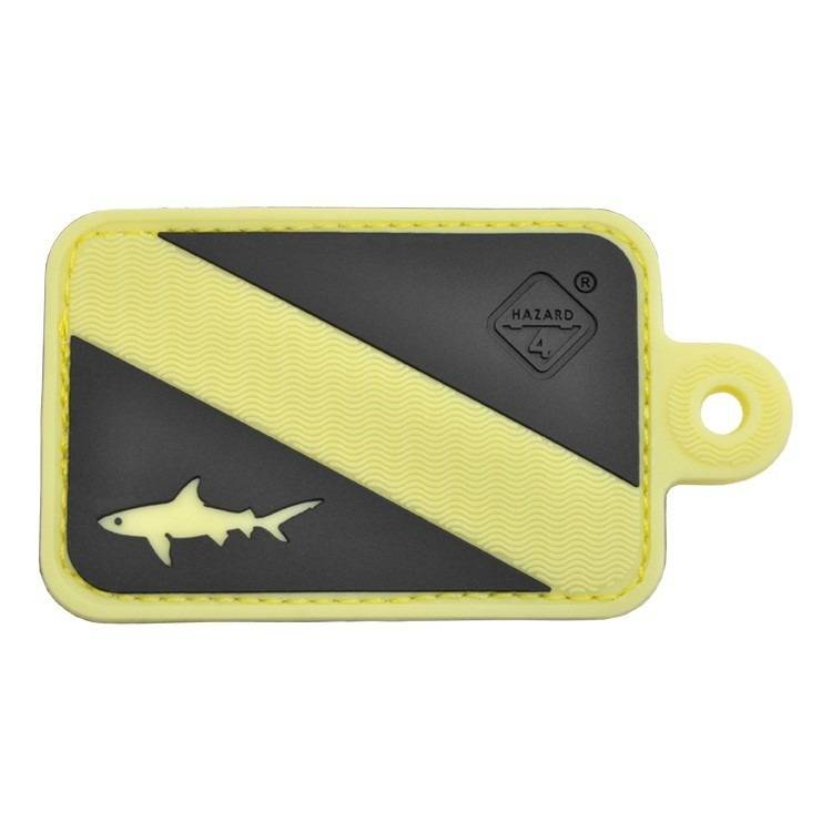 Hazard 4 Hazard 4 Dive Shark™ rubber velcro patch