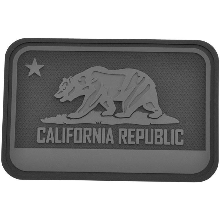Hazard 4 Hazard 4 California Bear Flag™ rubber velcro patch