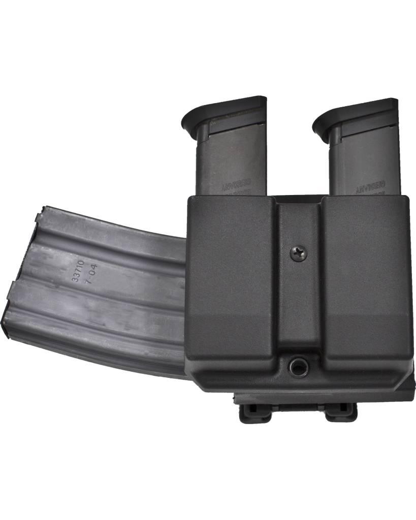 Blade-Tech Blade-Tech Revolution Combo AR  Mag + Double Pistol Mag DMP Glock 9/40 Black