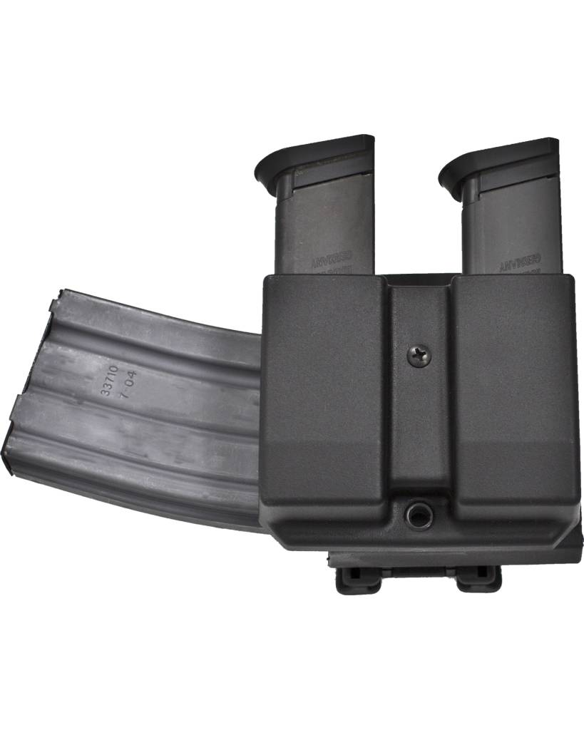 Blade-Tech Blade-Tech Revolution Combo AR Mag + Double Pistol Mag DMP Generic 9/40 Double Stack Black
