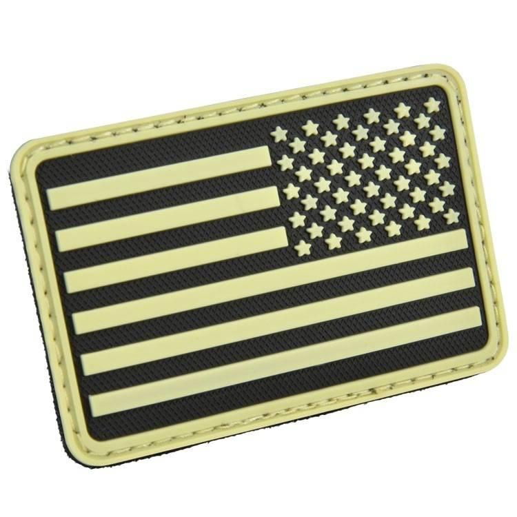 Hazard 4 Hazard 4 USA Flag (Right Arm) Rubber Velcro Patch