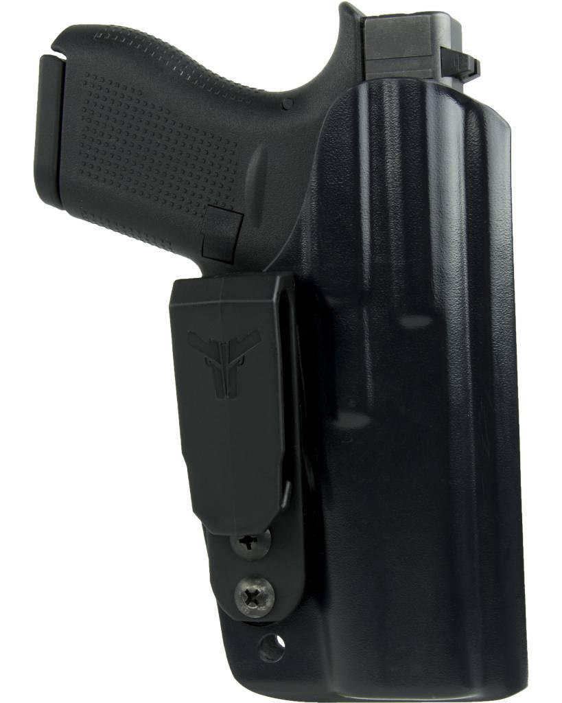 "Blade-Tech Blade-Tech Klipt Ambi IWB Holster - Glock 26/27/33 Black Ambi BT Appendix Clip 1.75"""