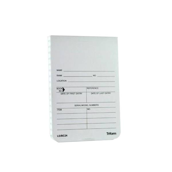 "Triform Triform Evidence Notebook 3 1/2"" x 5"""
