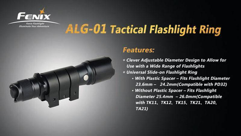 Fenix Flashlight Ring (ALG-01)