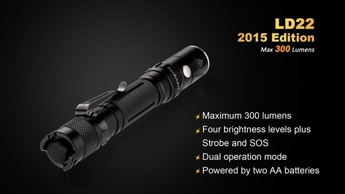 Fenix Fenix LD22 G2 LED Flashlight (2015 Edition)