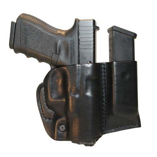 Blackhawk Blackhawk Leather Slide Holster w/Mag* - Glock 17/19/22/23